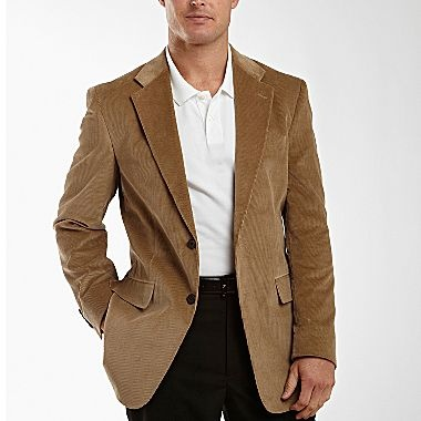stafford 174 corduroy two button sportcoat jcpenney s apparel from work to weddings