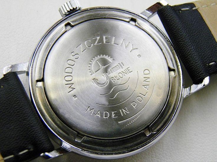 Polski Zegarek Blonie Super Vintage 8814893462 Oficjalne Archiwum Allegro Leather Watch Leather Accessories