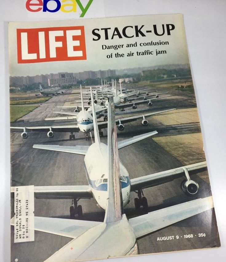 1968 Life Magazine Air Traffic Control Nightmare