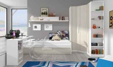 Conjunto dormitorio juvenil Canterbury