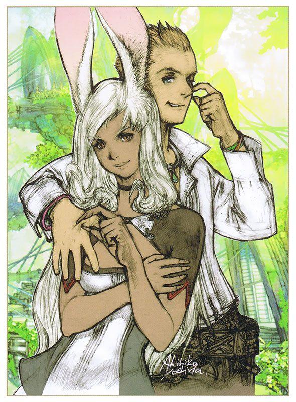 FFXII - Fran & Balthier