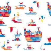 50% OFF Self Adhesive 2m Roll Noah Ark - Kitsch Kitchen
