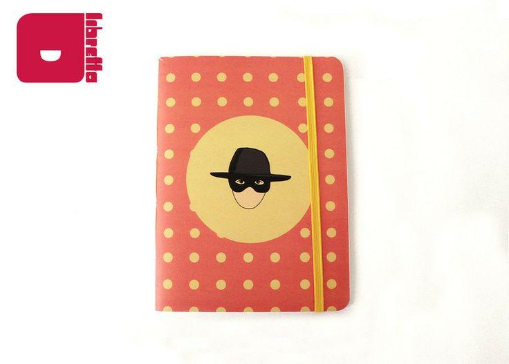 Série Amabilité (por Arthur Reis e Letícia Naves) | Zorro - Libretto | Cadernos com personalidade! Para comprar acesse: http://loja.meulibretto.com/serie-amabilite-ct-4c4a7