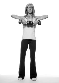how to get toned arms in a month