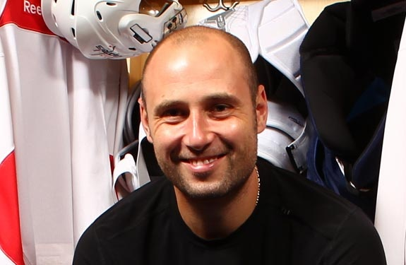 Prayers out to Tomas Vokoun. Get better bud. You were my #1 pick all playoffs and was looking forward to seeing you this season, love you!