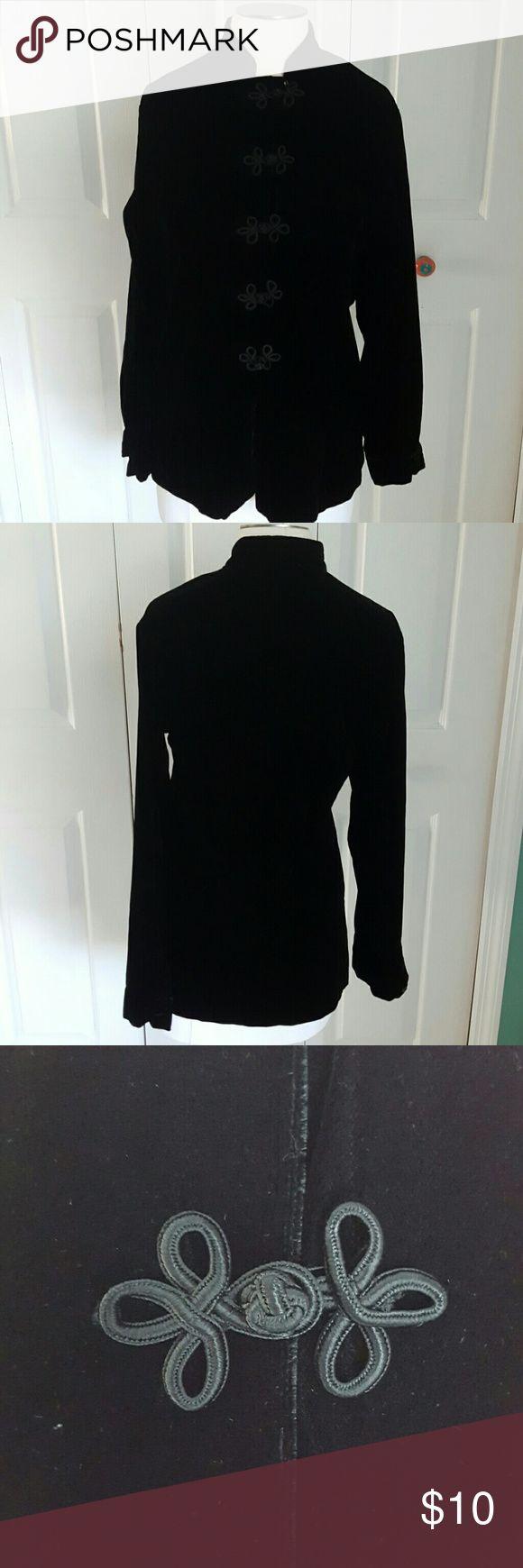 Brooks Brothers Black Velvet Jacket, size M Black velvet jacket by Brooks Brothers, size Medium Brooks Brothers Jackets & Coats