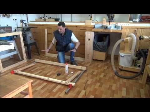 2/5 - Banco de carpintero, la base 2 - How to build a workbench, the base 2 - YouTube