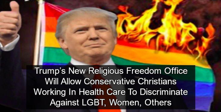 Religious Freedom Gestapo: The Trump administration has created a new office of religious freedom to protect conservative Christian bigots.