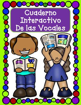 This is a huge interactive resource for las cinco vocales. Your kiddos will love cutting, pasting, coloring, creating with this hands on and engaging resource. You will also receive a black and white Interactive Notebook Journal Cover where your students can color and write their name for ownership.