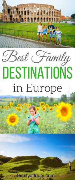 The best family holidays in Europe as chosen by family travel bloggers for your Europe family trip. What to see in Europe with kids? Click to see our list of top family holiday destinations. Our list includes the absolute best family holiday resorts in Europe for an amazing family vacation. #familytravel #travelwithkids #europevacations  Looking for best kids holidays in Europe? Find family holiday destinations and vacation ideas for your Europe trip  with kids.