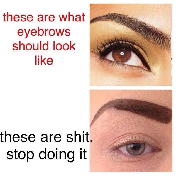 Slug eyebrows!! | Mumsnet Discussion
