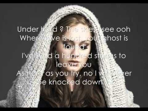 Adele - Turning Tables {Lyrics} - YouTube