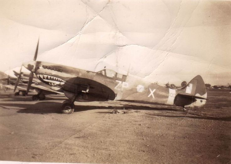 Supermarine Spitfire Mk.VIII, A58-600, ZP-X, 457 Squadron RAAF at Garbutt, Townsville.