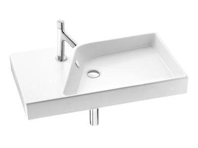 Rythmik 800mm Basin  Features:    Basin designed for left hand tap hole only  Overflow outlet