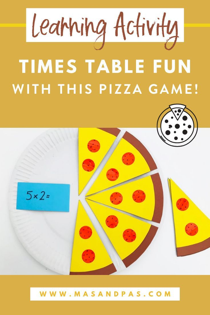 2x Table Fun With This Pizza Game Easy Math Activities Teaching Multiplication Math Activities [ 1102 x 735 Pixel ]