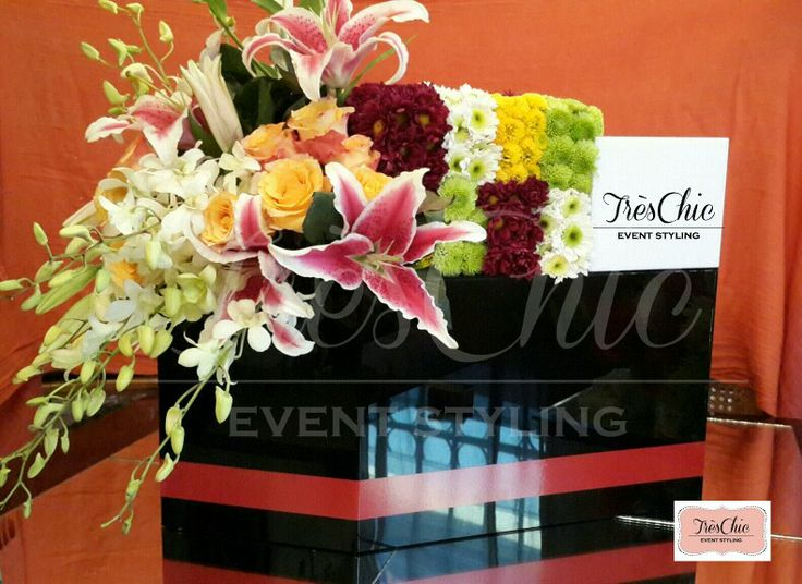 100 years Panama Canal Boat centerpieces