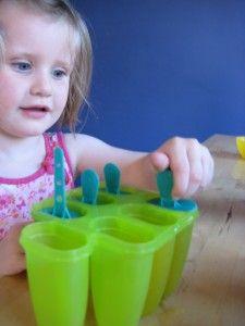 Homemade ice lollies - NurtureStore