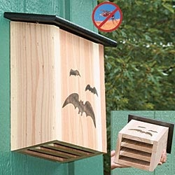 natural mosquito control...bats!  bathouse at gardensalive.com