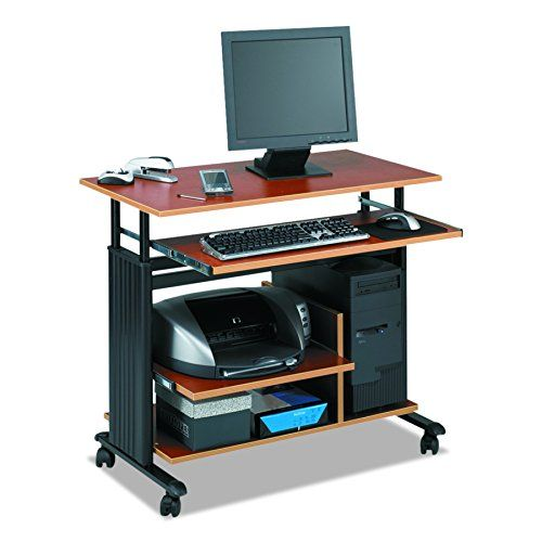 Safco Products 1927CY Muv Mini Tower 29-34H Stand-Up Desk Adjustable Height Computer Workstation with Keyboard Shelf Cherry https://homeofficefurnitureusa.info/safco-products-1927cy-muv-mini-tower-29-34h-stand-up-desk-adjustable-height-computer-workstation-with-keyboard-shelf-cherry/