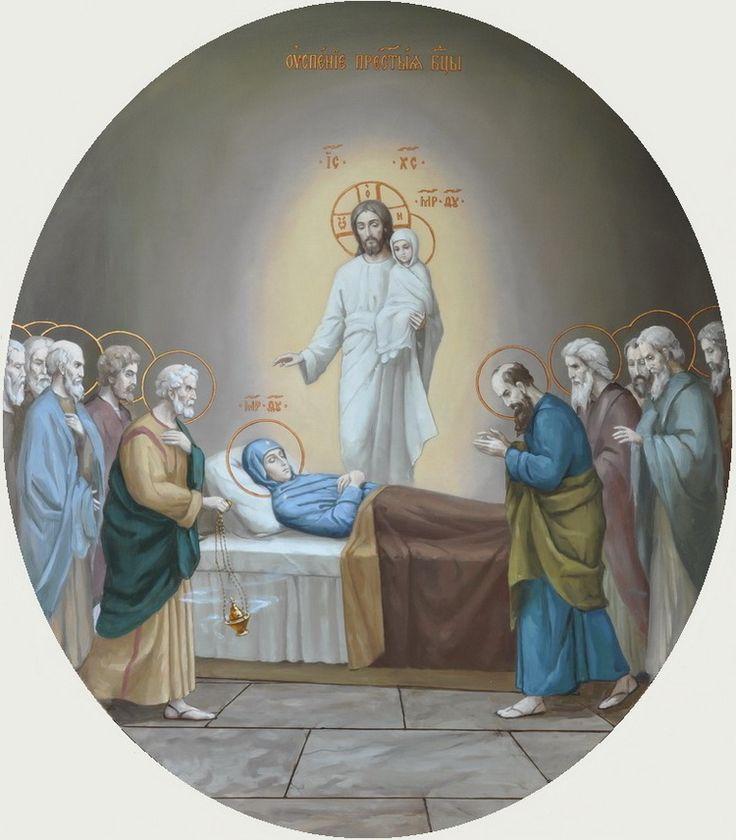 икона Успение Пресвятой Богородицы, Свято-Троицкая Александро-Невская Лавра,