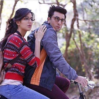 Katrina Kaif and Ranbir Kapoor still from Jagga Jasoos @instantbollybytes @instantbollybytes #katrinakaif #ranbirkapoor #bollywood #instantbollybytes