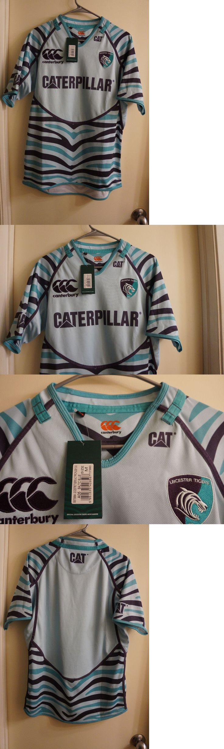 Rugby 21563: New Leicester Tigers Original Away Jersey Shirt Canterbury Size M Pro Rugby -> BUY IT NOW ONLY: $34.99 on eBay!