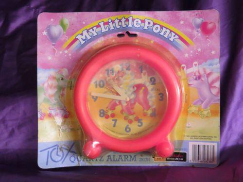 Collectable Vintage My Little Pony Quartz Alarm Clock BNIB MIB
