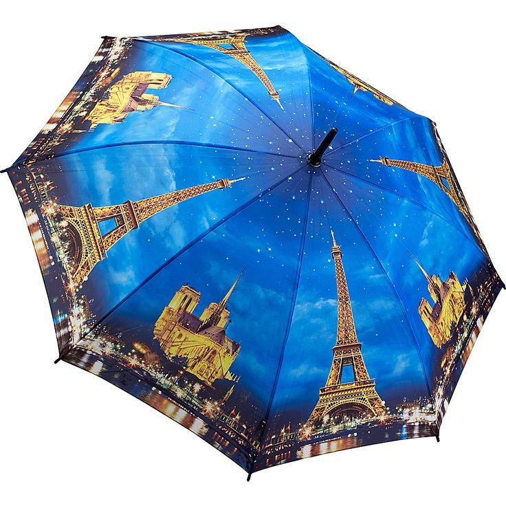 Paris-City of Lights Stick Umbrella
