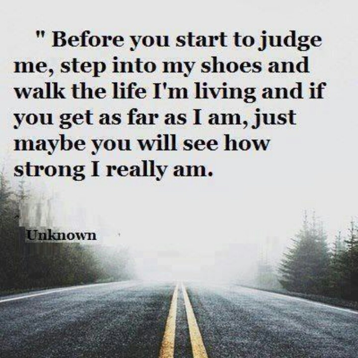 Walk A Mile In Her Shoes Quote