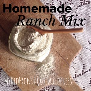 Homemade Ranch Powder Mix!!! This is great for burgers, Shrimp Scampi, made into a chip dip, salad dressing.... the possibilities are endless.... IT'S EASY AND HEALTHY!  www.myredfrontdoor.wordpress.com