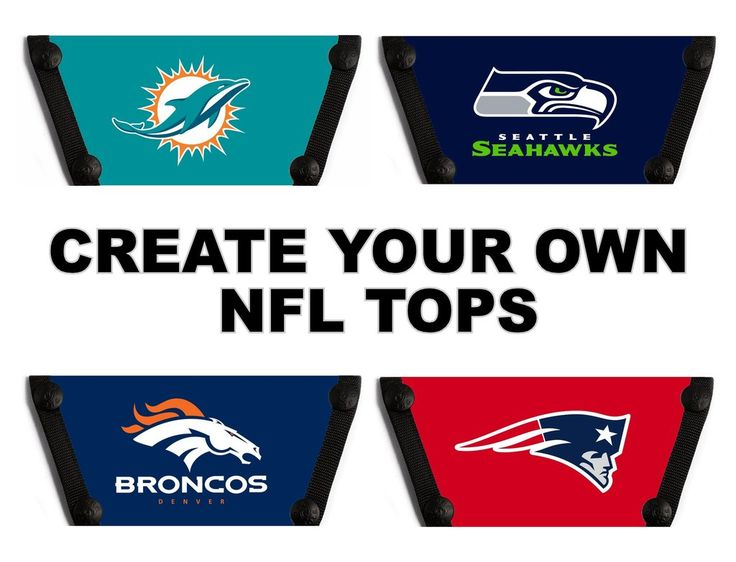 Create Your Own NFL Tops