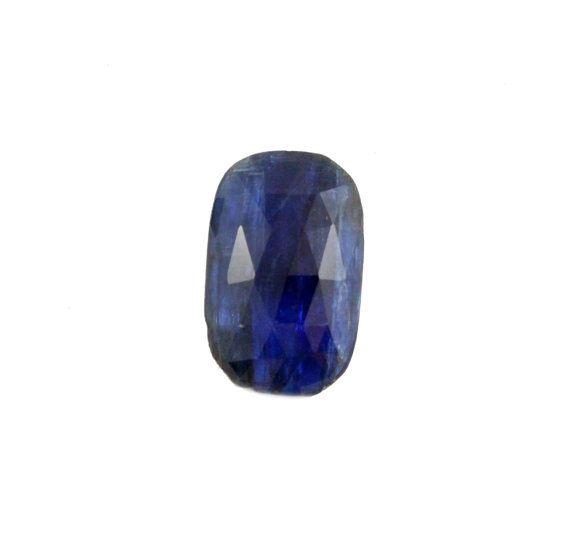 Blue Kyanite fancy rose cut 6.75 carat by SARAHHUGHESfinegems