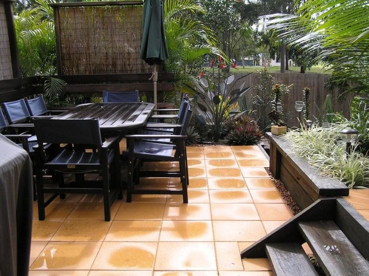 24 best images about courtyards on pinterest for Courtyard landscaping brisbane