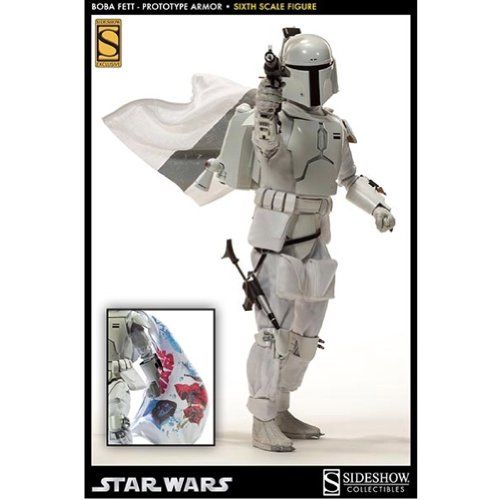 Sideshow Star Wars Boba Fett (Prototype Armor) 1/6 Scale 12 Figure @ niftywarehouse.com #NiftyWarehouse #Geek #Products #StarWars #Movies #Film