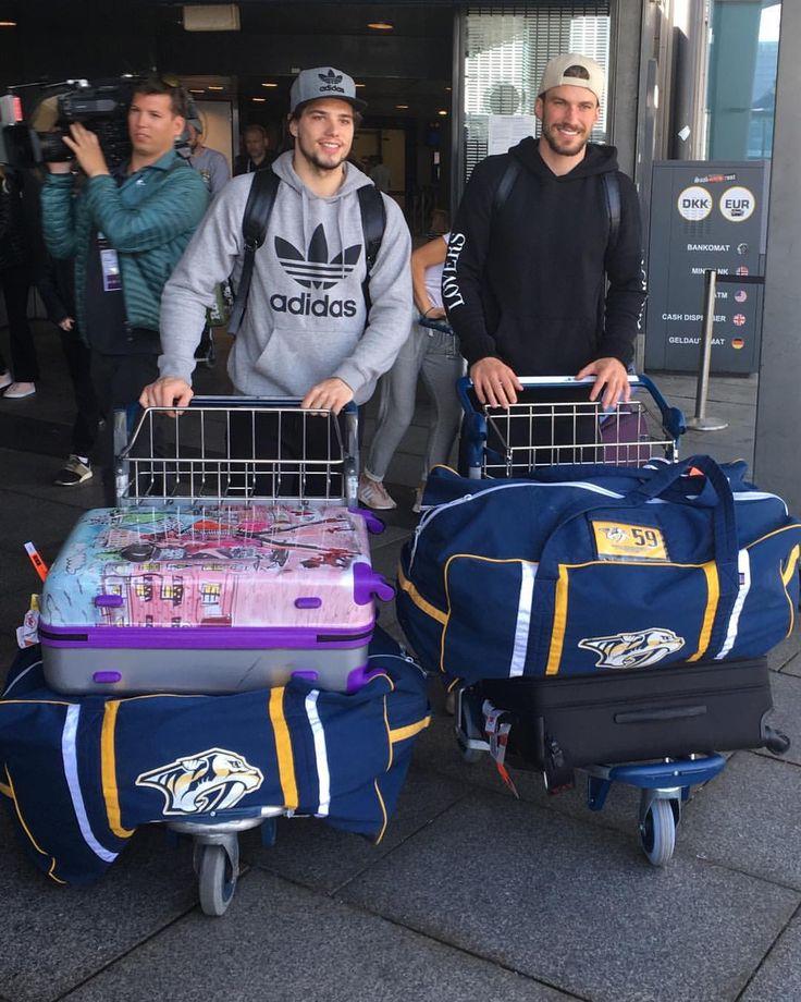 Kevin Fiala and Roman Josi, Nashville Predators
