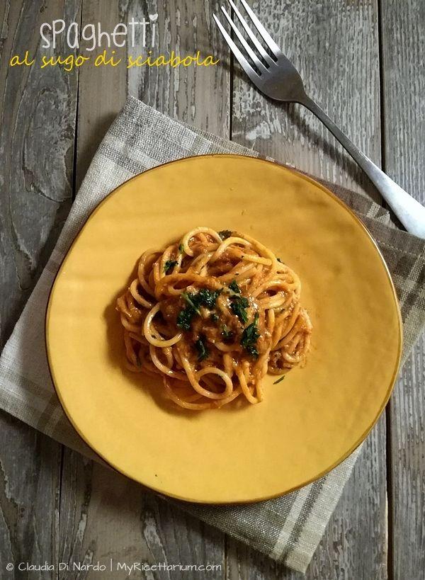 My Ricettarium: Spaghetti al sugo di sciabola