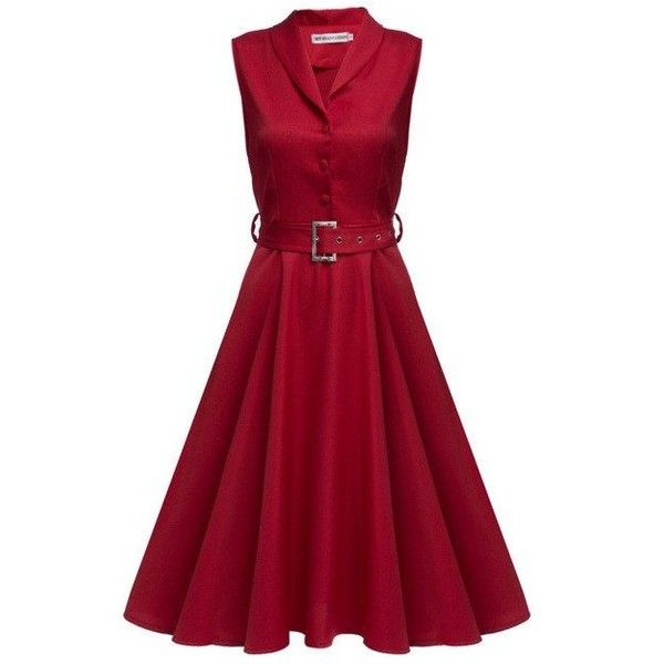 25  best ideas about Red a line dress on Pinterest | Burgundy ...