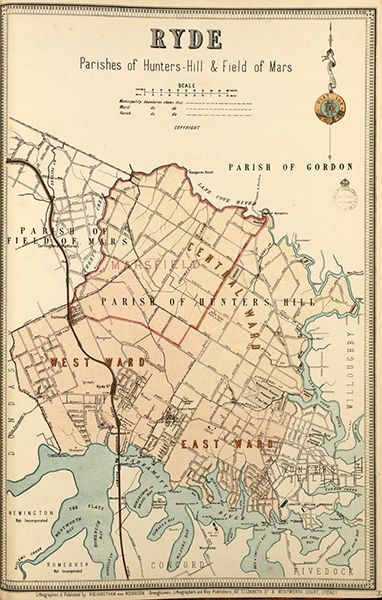 Ryde borough map. Available to purchase as an archival print. Contact the Library Shop for details. Print number C006720039
