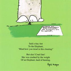 Spike Milligan poem