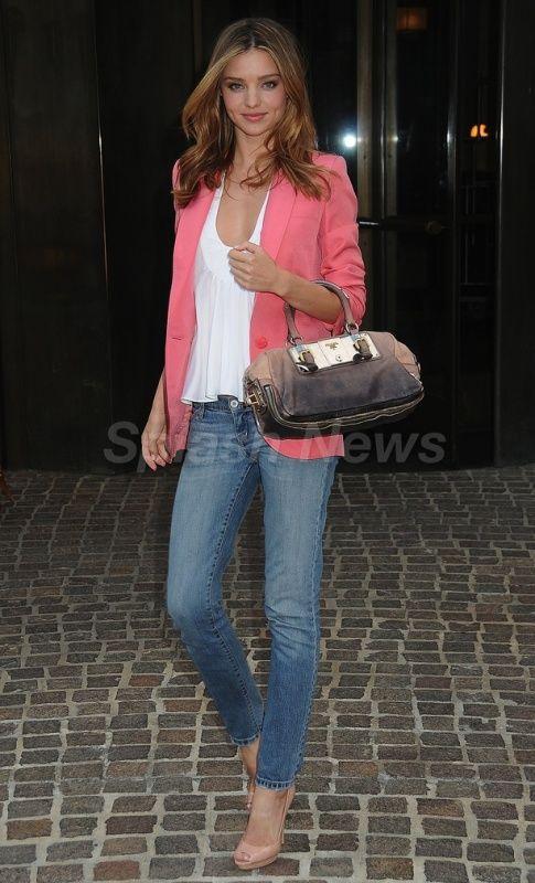Miranda Kerr - blazer!
