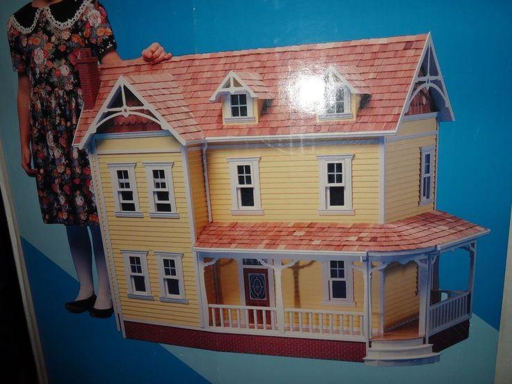 Duracraft Dollhouse Farmhouse Fh  Rooms Porch