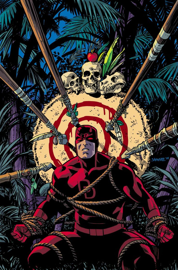 DAREDEVIL #7 Mark Waid (W) • Javier Rodriguez (A) Cover by Chris Samnee ORIGINAL SIN TIE-IN! • The man without fear braves the wilds of Wakanda! • And the truth behind Matt's mother's greatest sin is finally revealed. 32 PGS./Rated T+ …$3.99