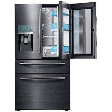 """Samsung Appliance RF28JBEDBSG 36"""" Energy Star Rated Food Showcase French Door Refrigerator in Black Stainless Steel, 2016 Amazon Top Rated Refrigerators  #Appliances"""