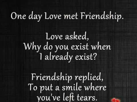 difference b friendship and relationship