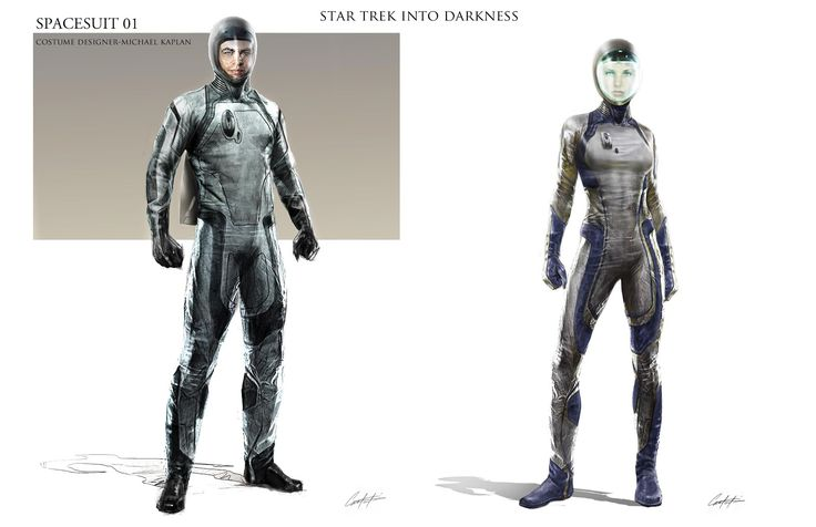 Star Trek Into Darkness concept art shows off the rebooted Klingons