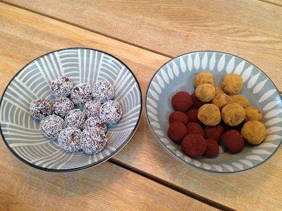 Evas Køkken: Dadelkugler uden gluten og sukker