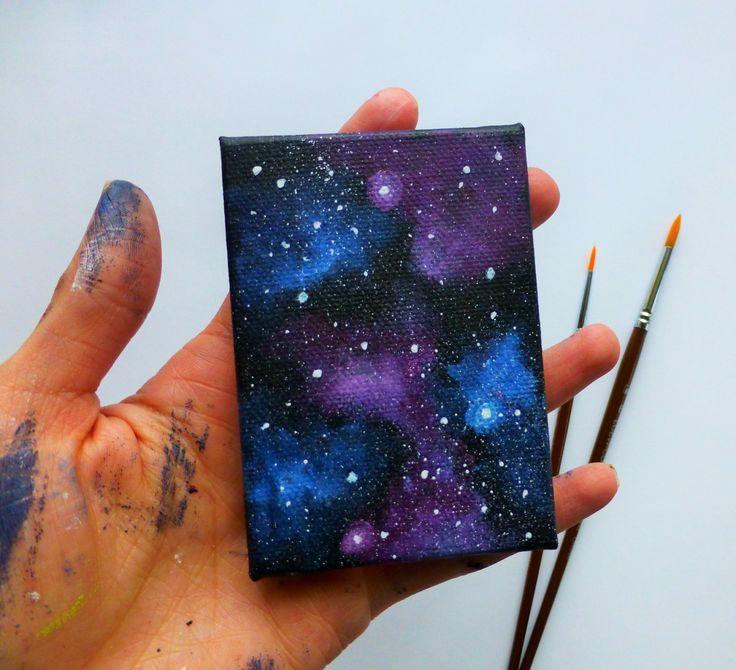 галакси рисунки своими руками получилось