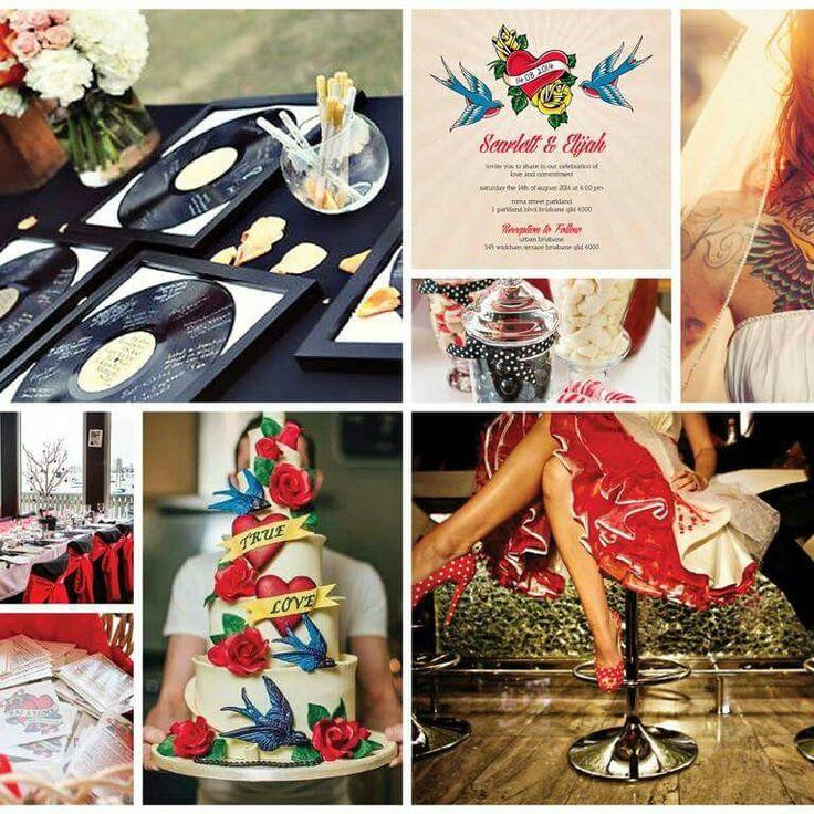 Ideas for your Rockabilly wedding