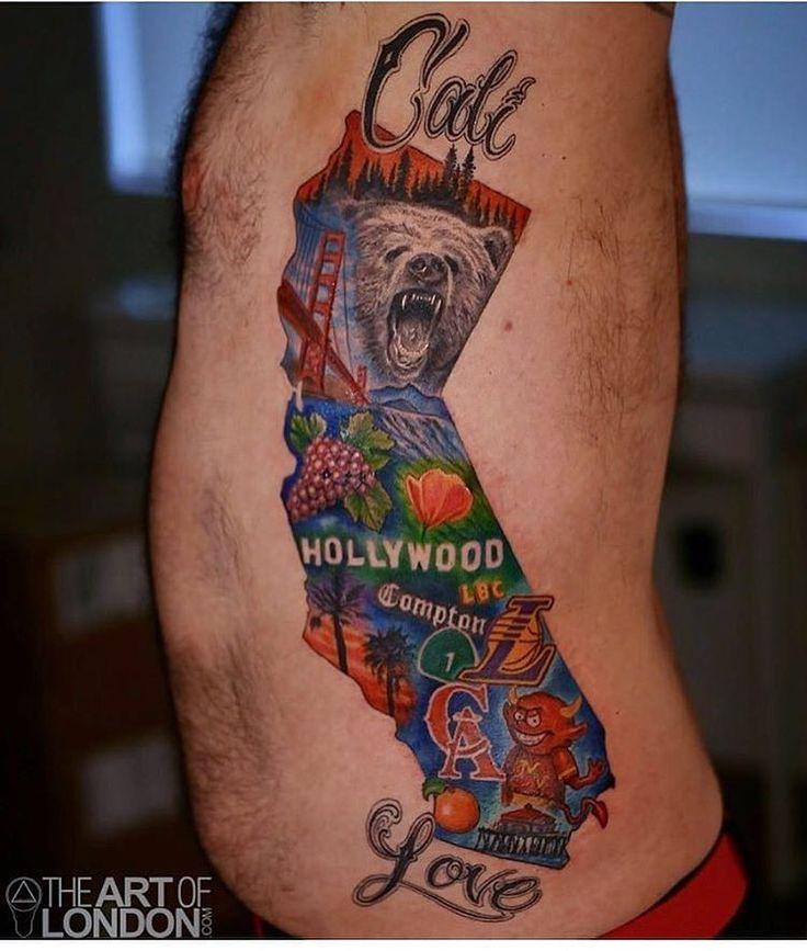Best 25+ California Tattoos Ideas On Pinterest