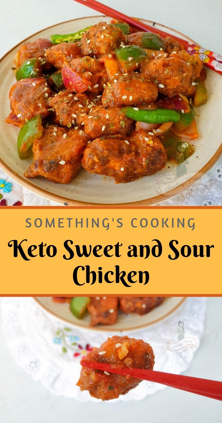 Keto Sweet and Sour Chicken | Recipe | Indian food recipes ...